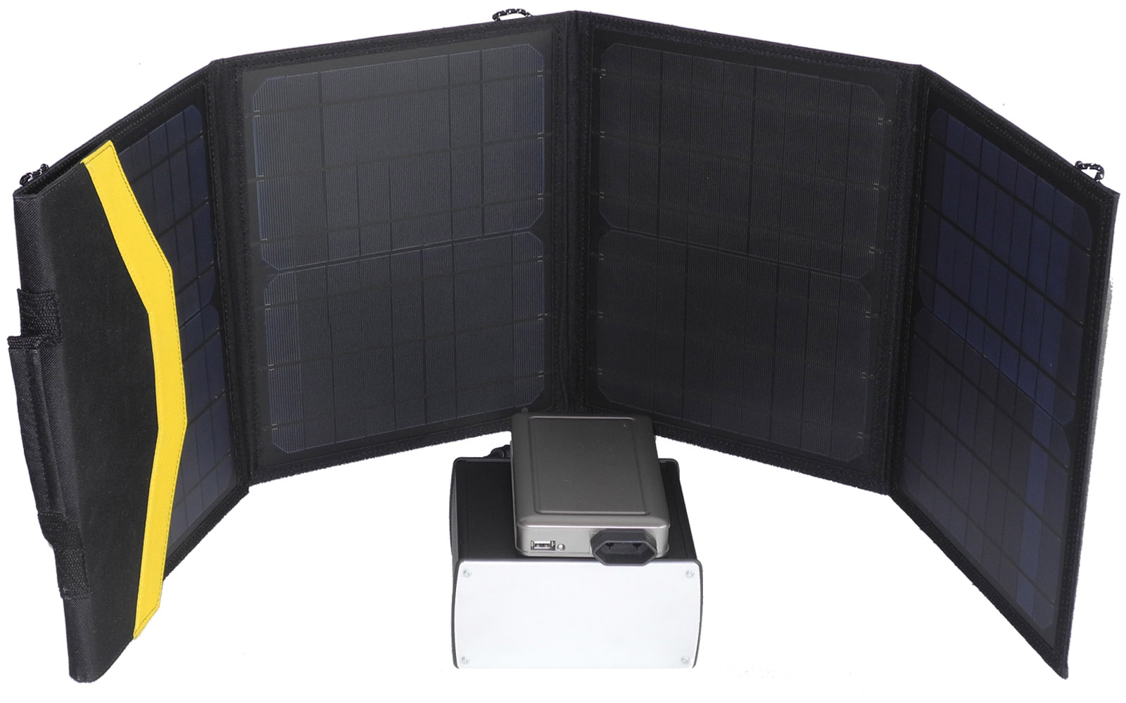 miete von solar powerbank f r camping urlaub reise smartpanel. Black Bedroom Furniture Sets. Home Design Ideas